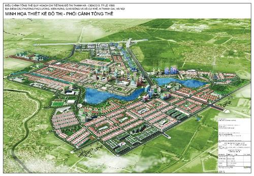 Thiết kế kiến trúc tối ưu ở khu đô thị Thanh Hà