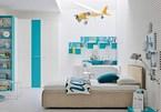 Xua tan nắng nóng với nội thất phòng ngủ màu xanh dương