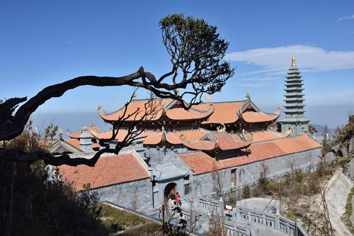 Kiến trúc tâm linh đời Trần trên đỉnh thiêng Fansipan