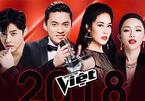 Bộ tứ HLV Giọng hát Việt 2018 chính thức lộ diện