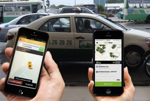 77 hãng taxi hợp sức 'đấu' Grab