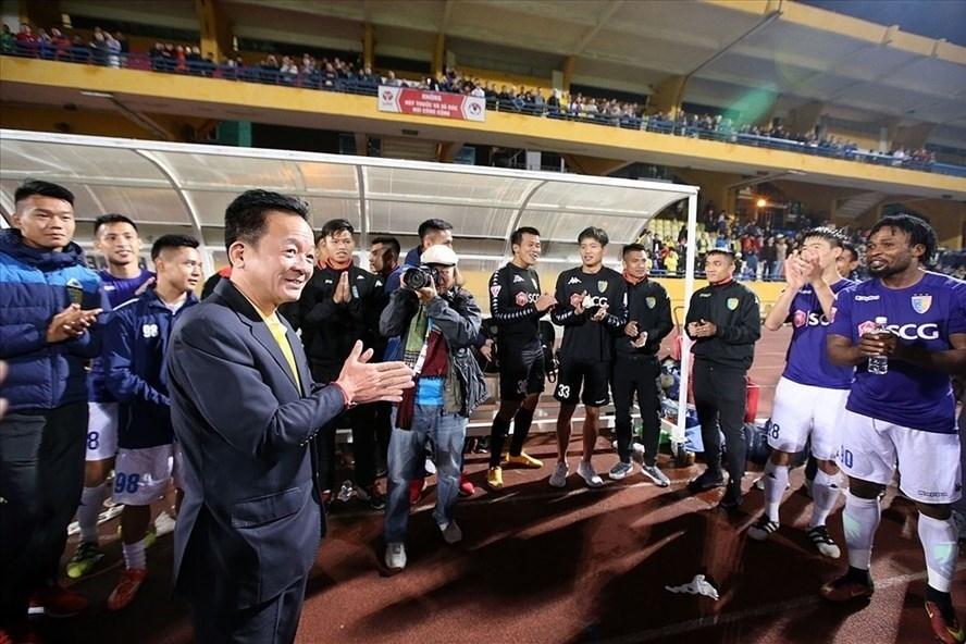 Hà Nội FC,bầu Hiển,V-League,sân Hàng Đẫy,Quang Hải