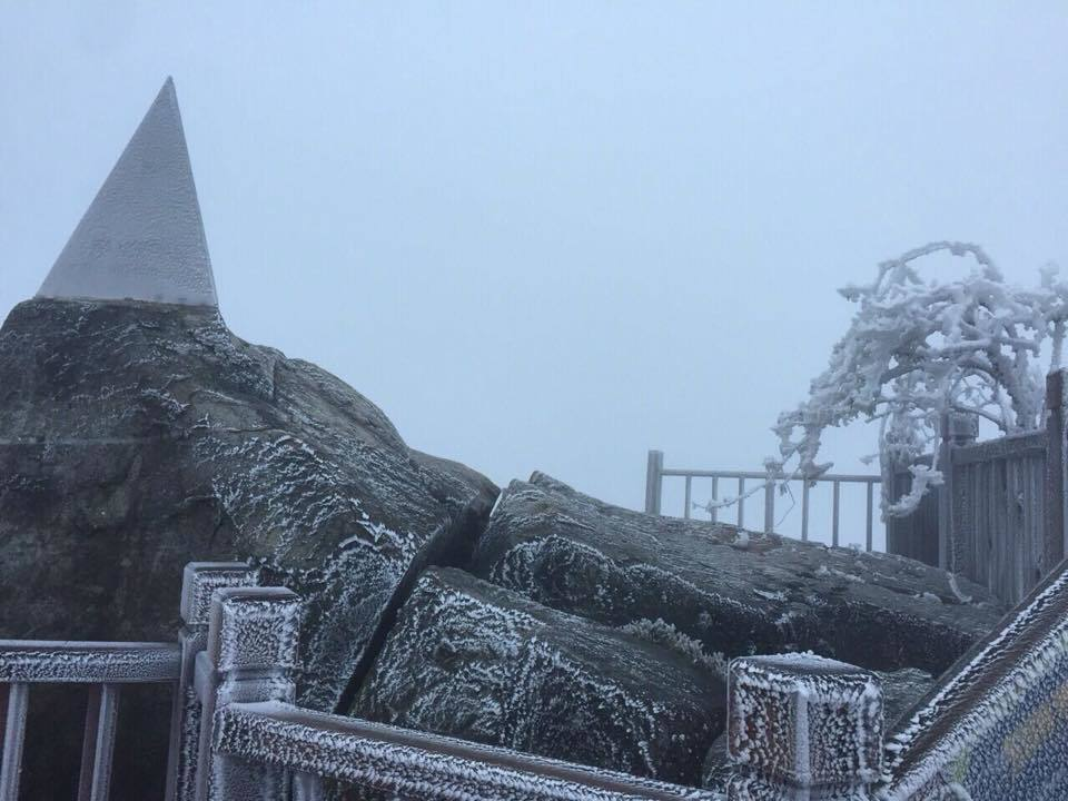 băng tuyết,băng giá,Fansipan,Lào Cai
