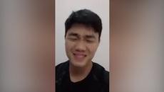 Biểu cảm đáng yêu của Lương Xuân Trường 'đốn tim' fan