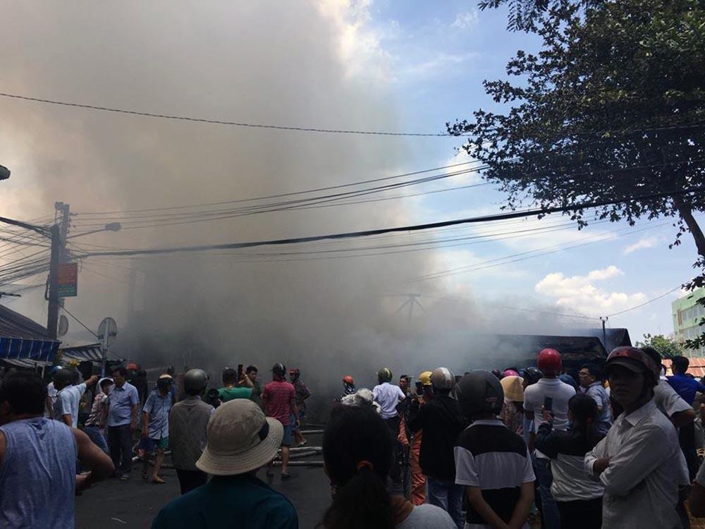 cháy nhà,hoả hoạn,Tiền Giang