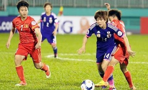 Nữ Nhật Bản vs Nữ Việt Nam