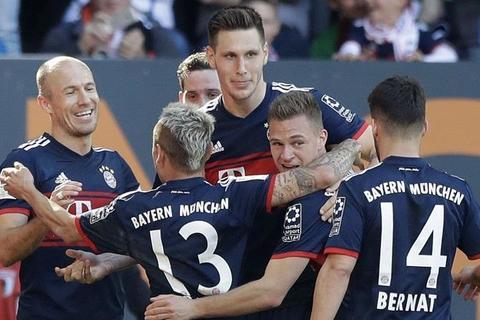 Augsburg 1-4 Bayern Munich