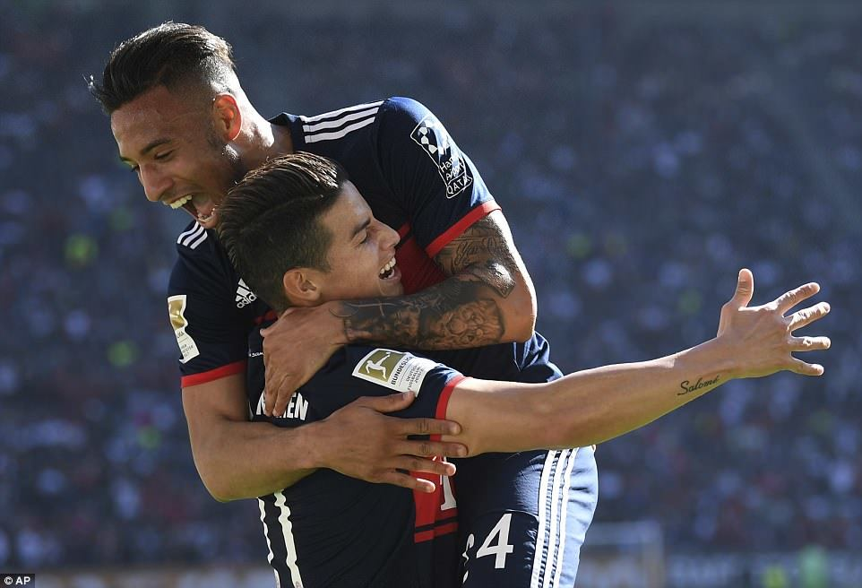 Thắng '4 sao', Bayern vô địch Bundesliga trước 5 vòng đấu