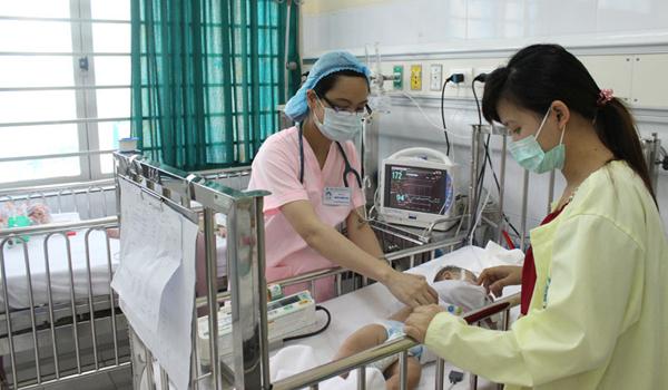 Bệnh viện Nhi TƯ: 42% điều dưỡng bị stress