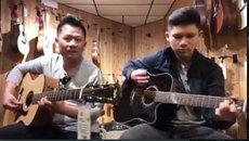 Bố con ca sĩ Bằng Kiều chơi bản hit của Mỹ Tâm cực chất