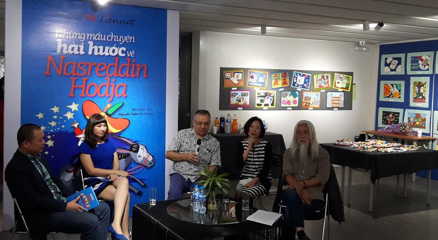 Sách về 'Trạng Quỳnh' của Thổ Nhĩ Kỳ ra mắt độc giả Việt Nam