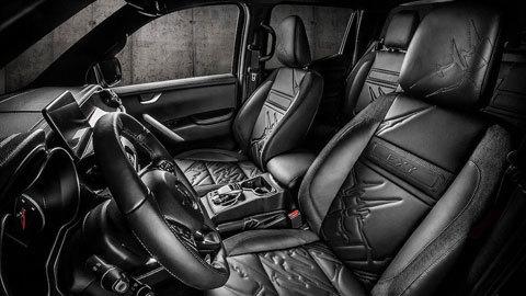 Mẫu xe độ bán tải Mercedes X-Class cực độc