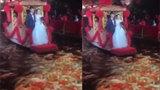 Màn rước dâu trên thuyền hoa với hàng trăm con cá gây sốt