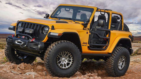 Năm mẫu xe độ offroad cực ngầu của Jeep