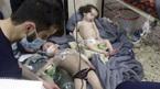 Hình ảnh tang thương sau vụ nghi tấn công vũ khí hóa học ở Syria