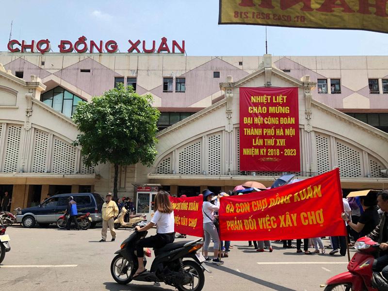 chợ Đồng Xuân,trung tâm thương mại,Hà Nội