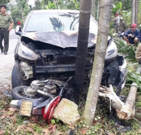 tai nạn giao thông,vụ cháy,Quảng Nam