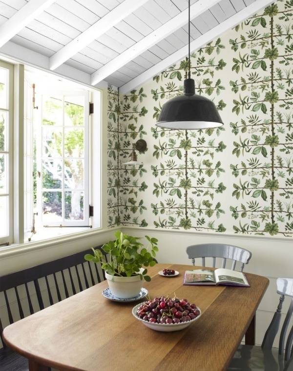 Nhà đẹp,nội thất,giấy dán tường,nhà bếp