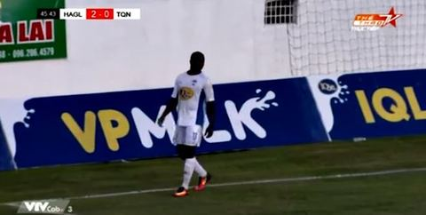 HAGL 3-0 Than Quảng Ninh: Rimario ghi bàn