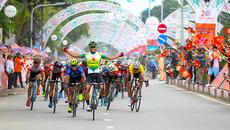 Giải xe đạp TH TPHCM: Nguyễn Thành Tâm khẳng định sức mạnh