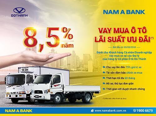 Nam A Bank bắt tay Đô Thành Auto gia tăng lợi ích khách hàng