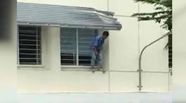 Nam sinh Sài Gòn nhảy lầu tự tử do thi điểm thấp