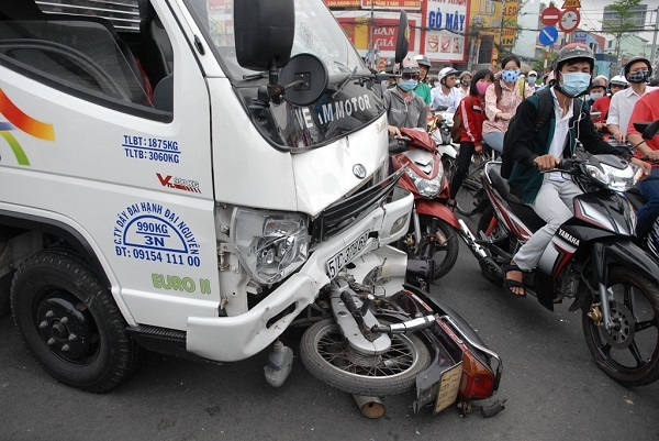 Bồi thường tai nạn giao thông do lỗi hỗn hợp