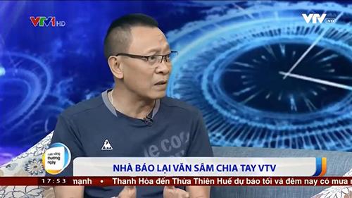MC Lại Văn Sâm chia sẻ về việc chia tay VTV