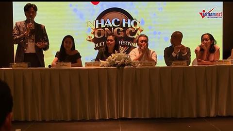 Ngô Kiến Huy và Ốc Thanh Vân chia sẻ về chương trình Nhạc hội song ca