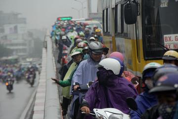 Ám ảnh tắc đường Hà Nội