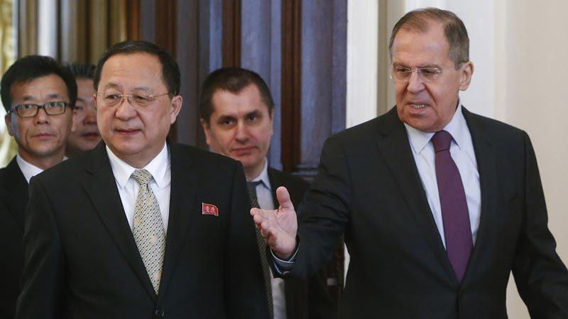 Ngoại trưởng Nga chấp nhận lời mời tới Triều Tiên