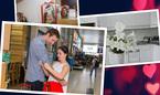 Tổ ấm ngọt ngào của Lan Phương và chồng Tây cao 2 mét