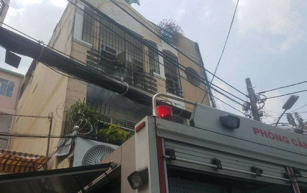 cháy nhà,cháy lớn,cháy nhà ở Sài Gòn