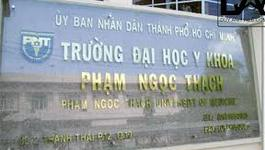Trường ĐH Y khoa Phạm Ngọc Thạch tuyển sinh cả nước