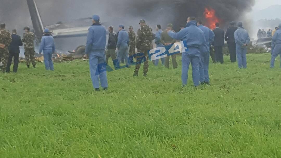 Rơi máy bay ở Algeria, 257 người thiệt mạng