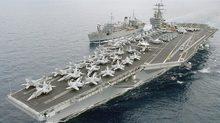 Sức mạnh tàu sân bay Mỹ đang trên đường tới Syria