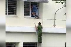 Áp lực học hành, nam sinh nhảy lầu tự tử để lại thư tuyệt mệnh