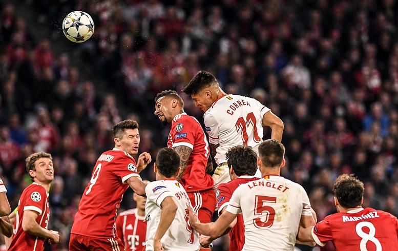Sevilla 'tắt điện', Bayern tinh quái vào bán kết