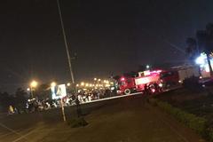 Hiếm gặp: Gọi cứu hỏa ứng cứu nạn nhân va chạm giao thông