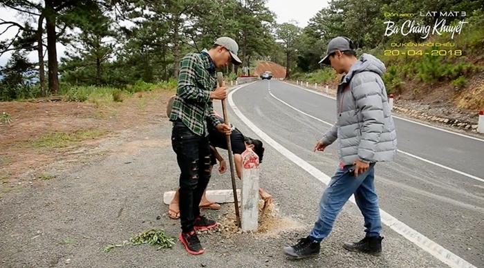 Kiều Minh Tuấn bị thương trong cảnh quay tiền tỷ của 'Lật mặt 3'