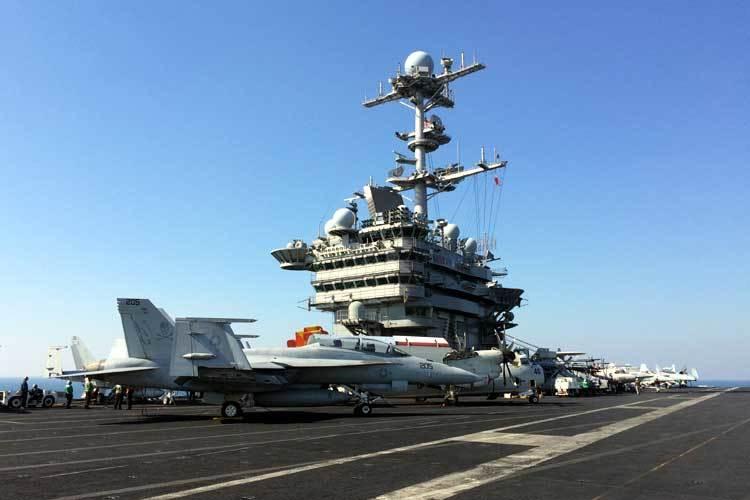 tàu sân bay,tàu chiến chết chóc,tấn công Syria,không kích Syria