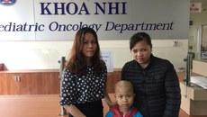 Hơn 21 triệu đồng bạn đọc giúp đỡ bé Nguyễn Ngọc Minh Thư bị K vỏ thượng thận