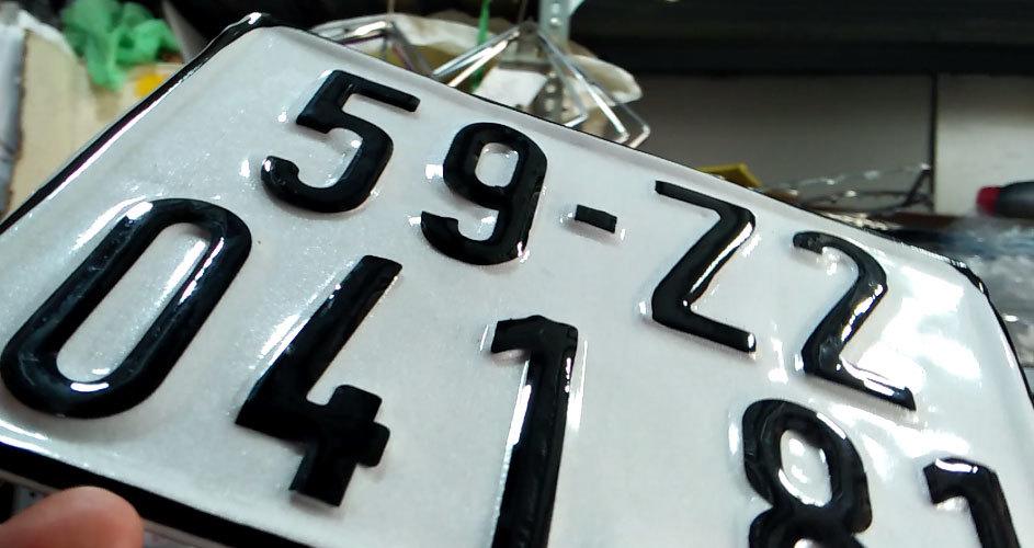 biển số xe,biển số giả