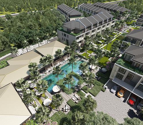 The Mansions ParkCity Hanoi - nhà trong công viên