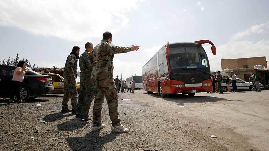 Quân đội Syria kiểm soát nơi bị nghi tấn công hóa học