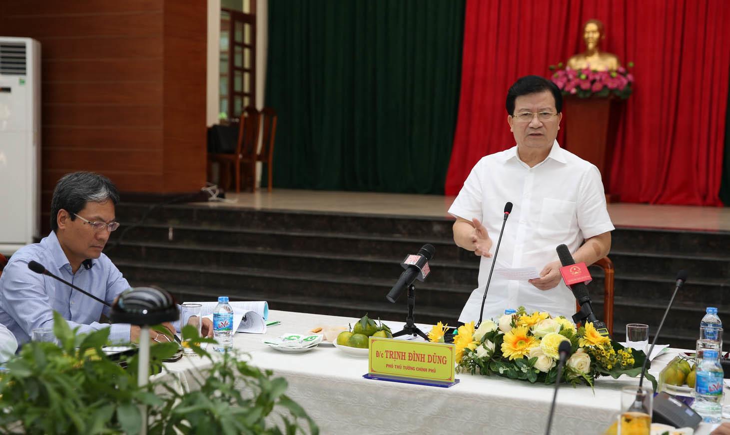 Sân bay Long Thành,Phó Thủ tướng,Trịnh Đình Dũng