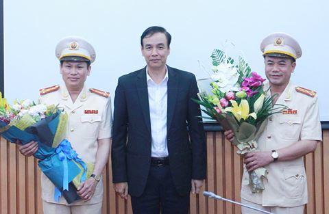 Bổ nhiệm 2 Phó giám đốc Công an TP Hà Nội