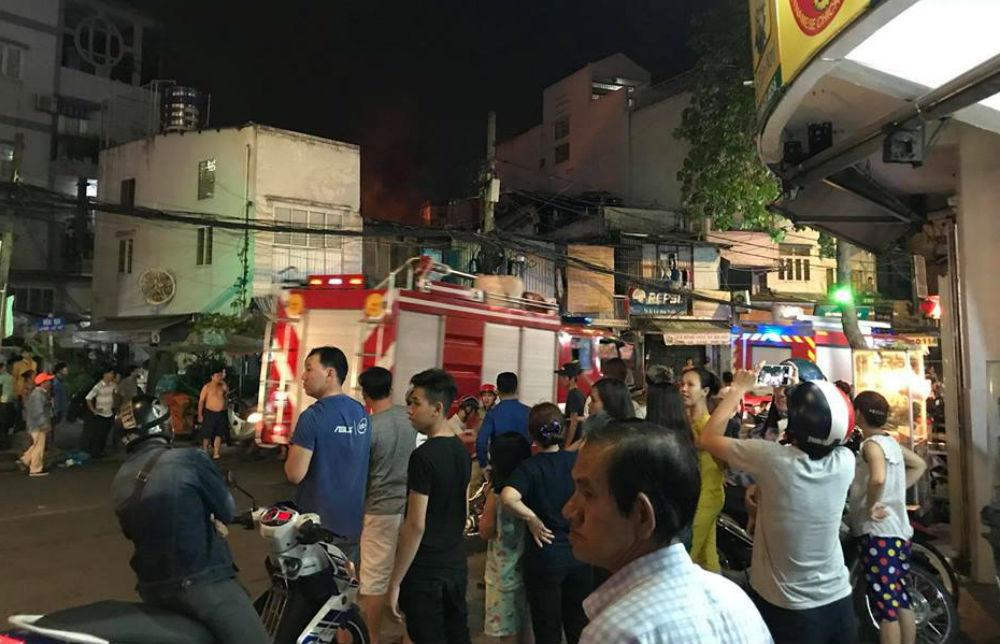 Cháy nhà,Sài Gòn,cháy lớn,cháy ở Sài Gòn,quận 1,CHÁY LỚN Ở TP HCM