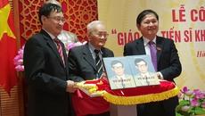Công bố cuốn sách: GS.TSKH Vũ Đình Cự - Cả đời cống hiến