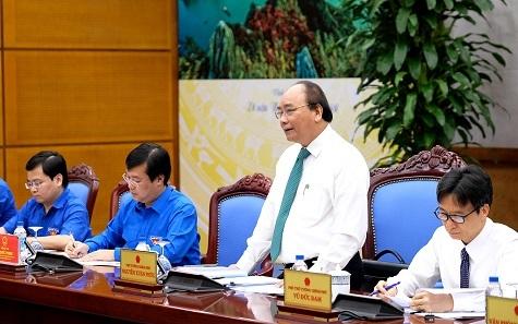 Thủ tướng Nguyễn Xuân Phúc,Nguyễn Xuân Phúc,Đoàn TNCS HCM